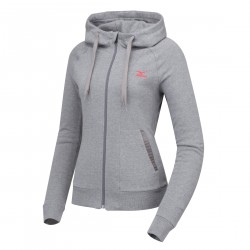 MIZUNO-WOMENS ESSENTIAL SWEAT ZIP UP_D2YG4701